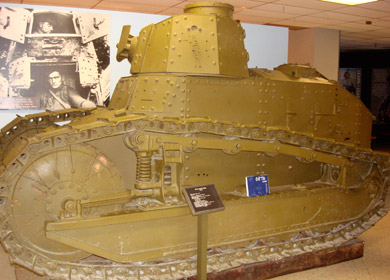 Patton Museum Panzer FT17 Light Tank