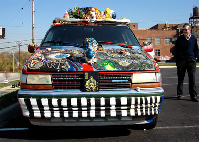 Art Car Weekend - Kentucky Art Van